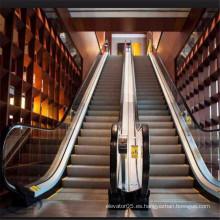 Escalera mecánica del metro del aeropuerto público del pasajero de 35 grados 600m m