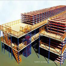 Armazém Elevador Estrutura de aço Mezzanine Rack Floor Decking Floor