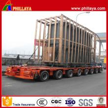16 essieux 240 tonnes grande remorque modulaire de transport de transformateur hydraulique