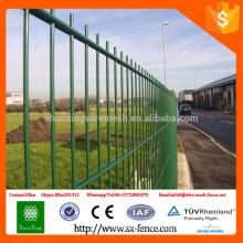 ISO9001 De alta calidad en polvo cubierto 868 doble valla de malla de alambre