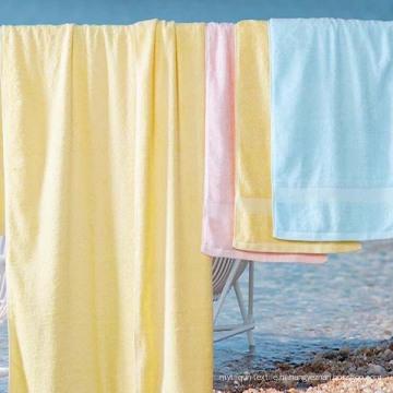 Toalha de cor sólida para têxteis de banheiro (DPF201630)
