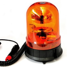Luz de farol de advertência rotativa de halogéneo para luzes de farol rotativas de estroboscópio de ambulância