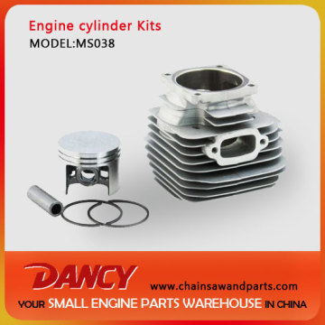 MS038 OEM cylinder kits(piston,ring,clip,pin,cylinder)