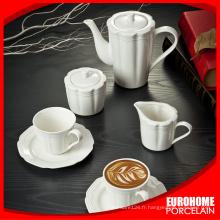 nouvelle arrivée clients durables personnalisé en porcelaine blanche