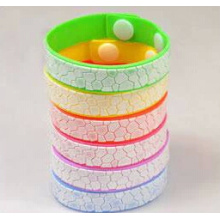 Silicone Mosquito Repellent Bracelet with One Bottle Pure Natural Essential Oil