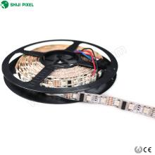 La bande imperméable et flexible réglable de carte PCB de LED a mené la bande 12v flexible et découpable a mené la lumière réglée de corde de dmx