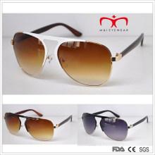 Estilo clásico y gafas de sol calientes del metal de las ventas (MI214)