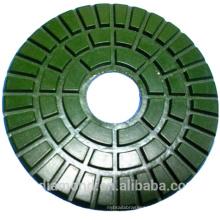 Wet or dry Diamond Polishing Pads for glass polish and door polishing pads