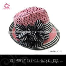 Chapéus de meninas elegantes com Bowknot 2013