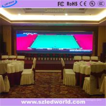 Panneau d'écran d'affichage de publicité fixe polychrome d'intérieur de la publicité P6 LED