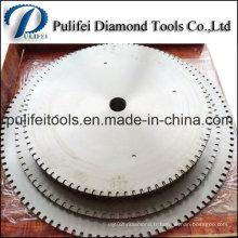 Lame de scie circulaire de 36 po pour segment de coupe en pierre granitique