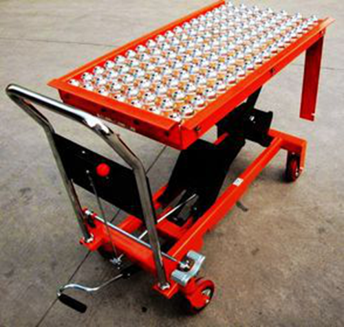 Portable Hydraulic Roller Conveyor Scissor Lift Table