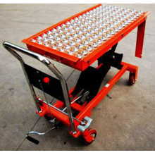 Ball Bearing Lift Table Conveyor Lift Trolley