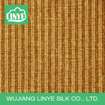 nylon polyester stripe style chair cover fabric for office, corduroy