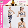 Kundenspezifischer bedruckter Cheerleading Supportive Padded Sports Bra