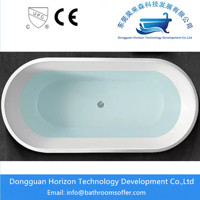 freestanding tub dimension