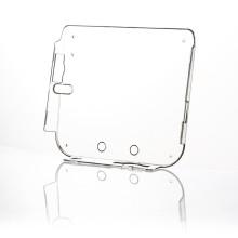 Cas en plastique dur de couverture de peau de Gamepad de cristal clair en plastique pour Nintendo pour 2DS
