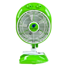 Os alunos Clip ventilador ventilador elétrico com variável CDJ-20 verde