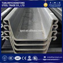 Palplanches en acier standard européen SY295