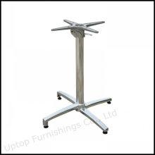 Cuatro Prong Aluminio pedestal plegable mesa de la pierna (SP-ATL226)