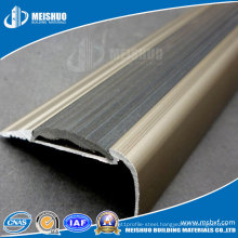 High Quality Aluminum Profile with PVC Inserted Stair Tread Nosing