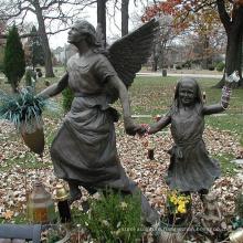 bronze casting foundry metal craft bronze Erica's Angel Bronze Statue