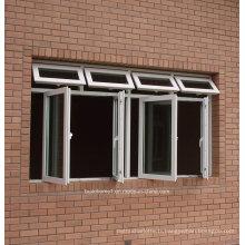 Portes et fenêtres en aluminium à cadre économe en énergie