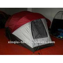 6 pessoa túnel ao ar livre doube lalyer boa qualidade tenda