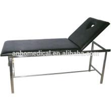 Acero inoxidable Sofá de masaje, hospital Sofá de masaje