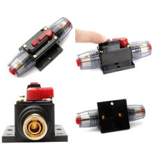 Car Stereo Audio Current Circuit Breaker with Inline Fuse Protector