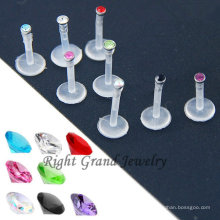 Internal Thread Bio Flex Gem Lip Labret