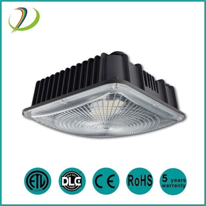 DLC listado 50w 75w canopy led light