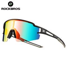 Rockbros Sport Photochromic Polarized Glasses Cycling Eyewear Bicycle Glass MTB Bike Bicycle Riding Fishing Cycling Sunglasses