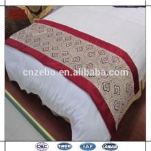 Popular e elegante quente venda Decorado Bed Runner / lenço feito na China