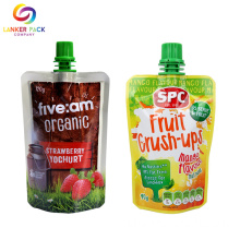 Custom Hot Sealing Baby Food Packaging Spout Pouch