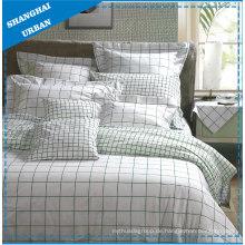 Streifen-Baumwollbettwäsche-Bettbezug