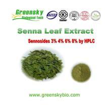 Senna Leaf Extract Powder 10:1 with 4% Sennosides
