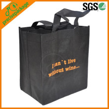 Eco friendly recycled bottle non woven wine bag