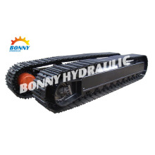 Mini Excavator Steel Track Undercarriage