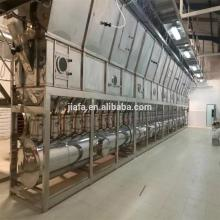 Pengering Resin PVC Tipe Horisontal Cair Bed Bed Drying Machine