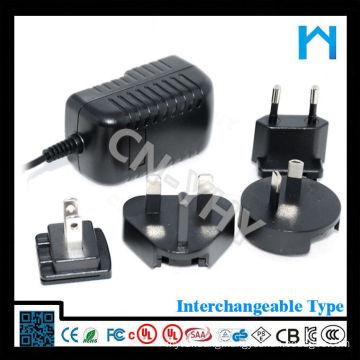 Modern Certified ac plug interchangeable adapter 12w 24w 36w 48w 60w