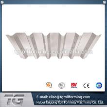 Fácil de usar TR 47/180 Trapezoidal Roof & Wall Roll formando la máquina con muy buena relación precio / rendimiento