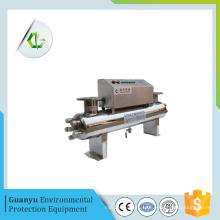 Ultravioleta esterilización filtro de agua ultravioleta tratamiento de agua