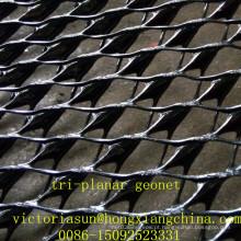 Rede de drenagem de geocompósito de HDPE