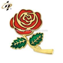 Romantische Rose 2018 für Liebesandenkenmetallabzeichen