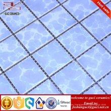 fábrica de China horno cambio mosaico de azulejos de cerámica baño diseño
