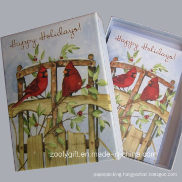 20 Holiday Cards and Envelops Greeting Holiday Cards with Packing Box