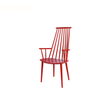 Solid ASH Wooden High Back Dining Armchair