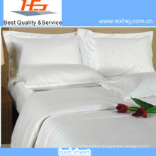 Modern design bleached durable cheap hotel and hospital bed sheets