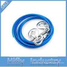 Cuerda de remolque de la cuerda de remolque del coche HF-003 Cuerda de remolque de la herramienta de emergencia de la mini herramienta fuerte de alta calidad 3T
